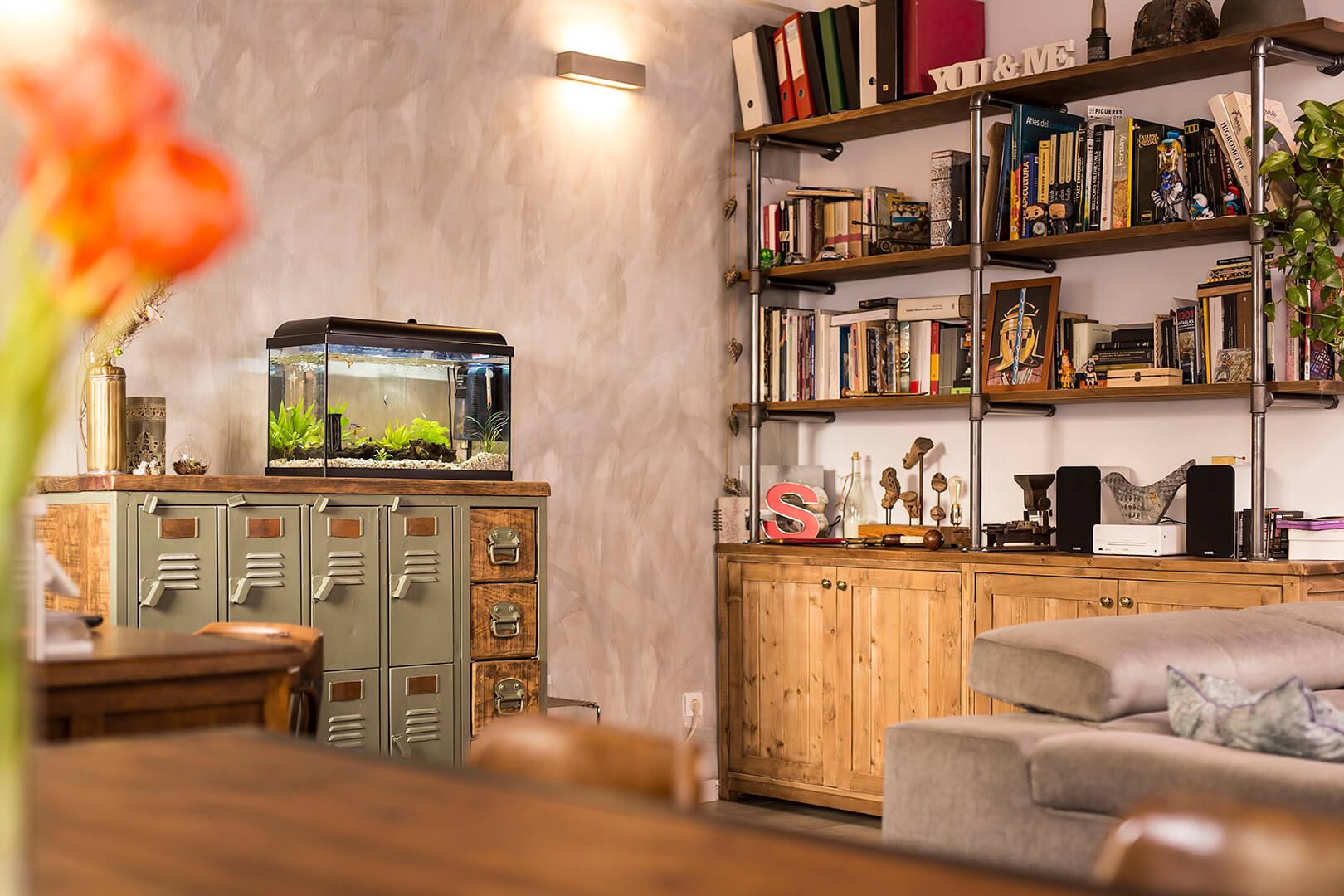 Como Decorar Un Loft En Barcelona - Decoracion-de-loft-pequeos