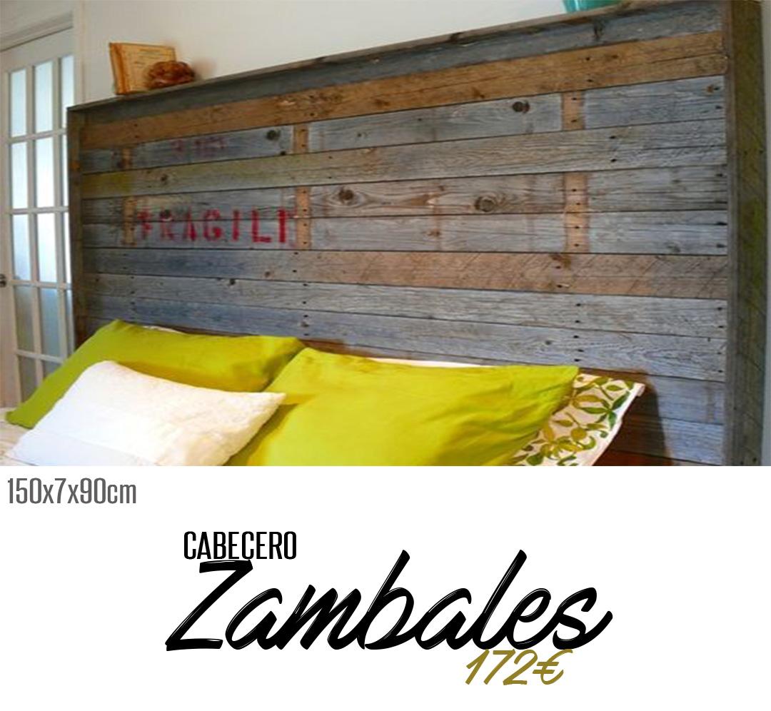 Cabecero zambales - La antigua viruta ...