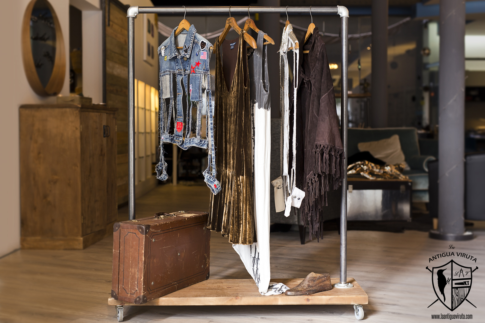 moda ropa y zapater a