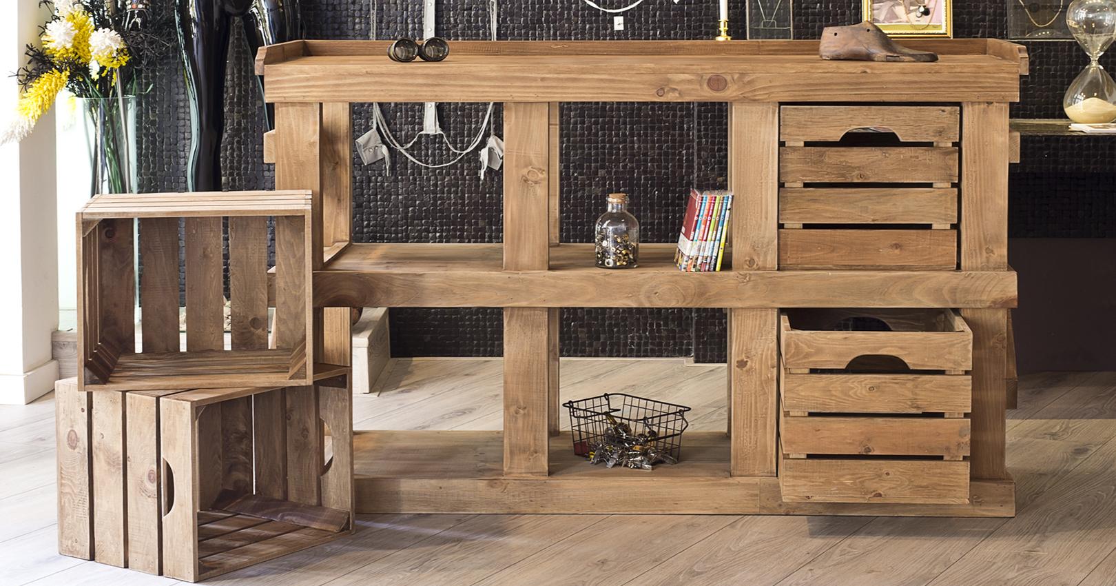F brica y venta de muebles vintage for Muebles para negocio